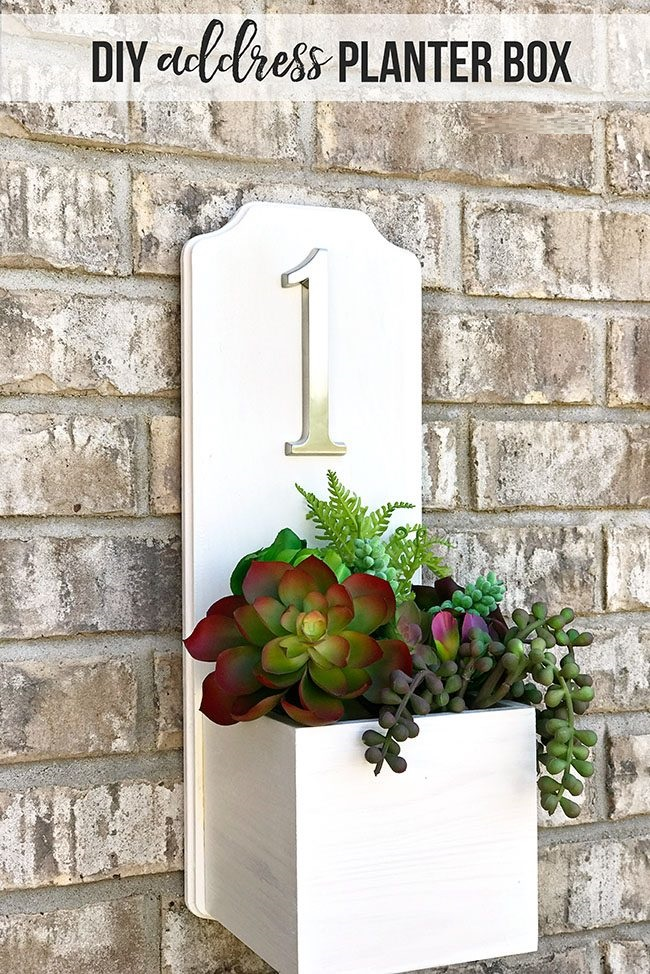 Planter Address Box