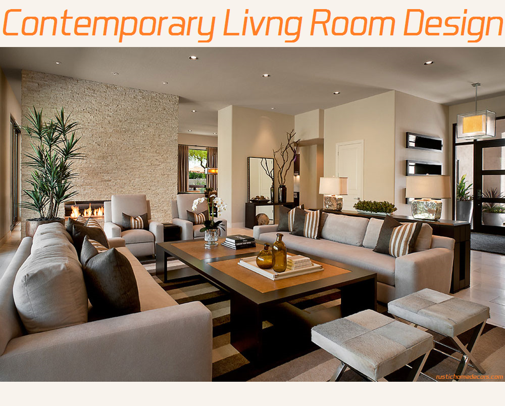 contemporary living room designs