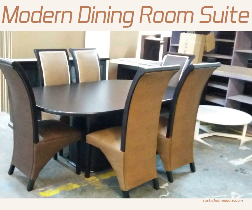 modern dining room suite