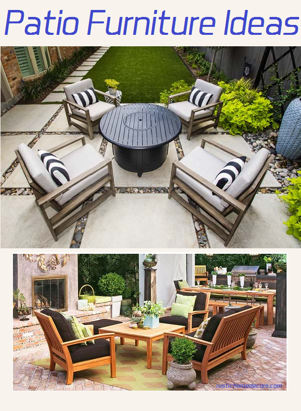 patio furniture ideas