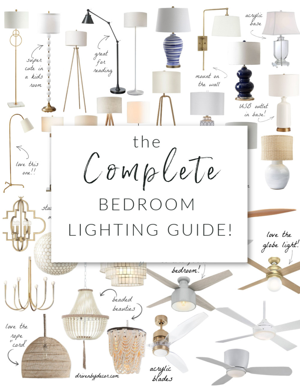 the complete bedroom lighting guide
